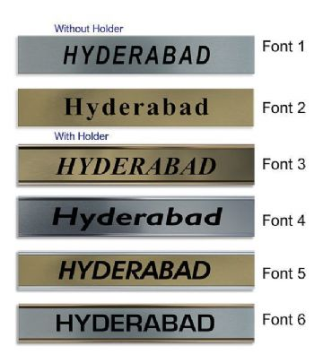 Hyderabad Clock Name Plate |World Time Zone City Wall clocks Sign custom Plaque
